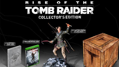 Rise of The Tomb Raider Collector's Edition announced exclusively for Xbox One