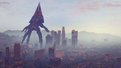 Modder brings Mass Effect 3's Reaper to Grand Theft Auto 5