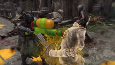 Modder brings Splatoon into Skyrim, and it's awesome