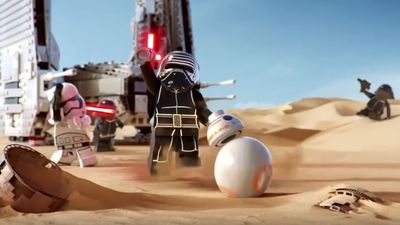 Does the leaked Star Wars LEGO commercial spoil part of The Force Awakens?