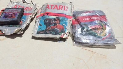 Those buried Atari E.T. The Extra Terrestrial games were dug up and sold