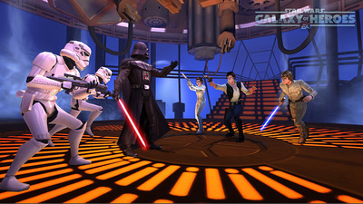 First look at Star Wars: Galaxy of Heroes mobile game