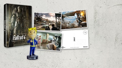 Fallout 4 Steelbook and Postcard bundle is exclusive to GAME in U.K.