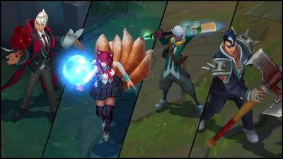 Riots takes League of Legends champions to school with new skins