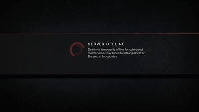 PSA: Destiny is offline for the next six hours