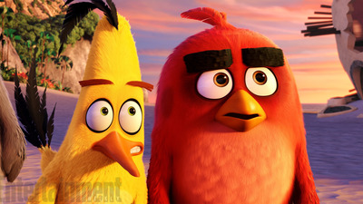 Stills from Angry Birds film