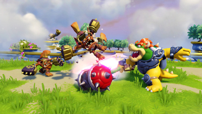 Peach, Kirby and Fox were almost in Skylanders SuperChargers