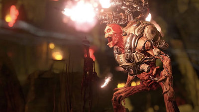 Doom debuts the new id Tech 6 engine