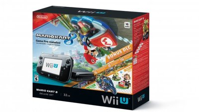 New Wii U bundle comes with Mario Kart 8 and all DLC