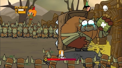 PSA: Castle Crashers Remastered is available today, free for owners of original