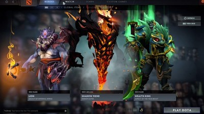 DOTA 2 gets updated with new level system, Treasury and fixes