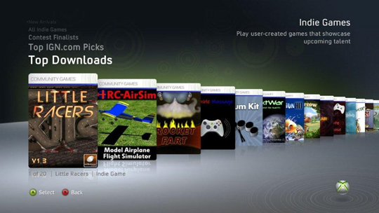 Download xbox 360 indie games
