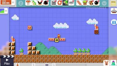 Latest Super Mario Maker patch removes the daily limit on level editing tools