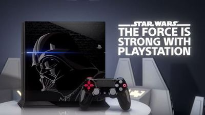 You can now pre-order Sony's Darth Vader-inspired Star Wars PS4 bundle