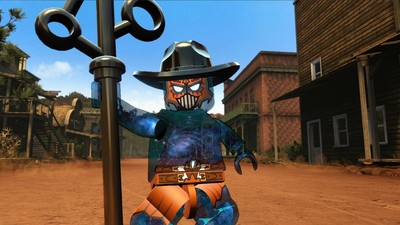 Lego Dimensions uses original voice actors and Gary Oldman as the villain