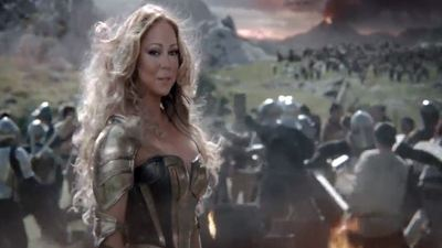Mariah Carey's Game of War commercial is here, and it's not terrible