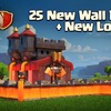 Clash of Clans update sneak peek #3: New look level 11 walls