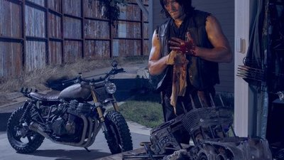 New images for The Walking Dead season 6 are a mix of guns, zombies and more guns