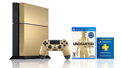 Limited Edition Gold PlayStation 4 Bundle