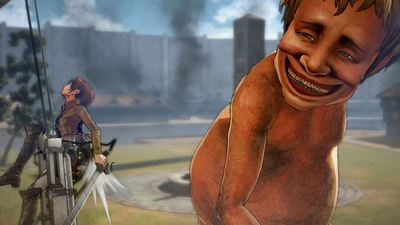 Behold, 8 minutes of glorious Attack on Titan PS4 gameplay