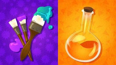 Tonight's North American Splatfest pits Art against Science