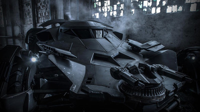 Batman v Superman: Dawn of Justice's Batmobile shown close up in new video