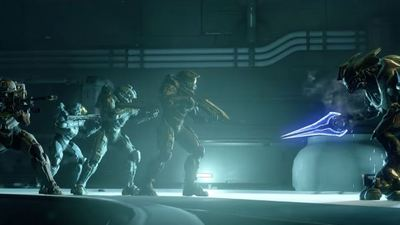Watch the Halo 5 opening cinematic for Master Chief's Blue Team