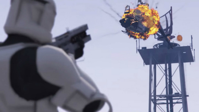 Star Wars enters the world of GTA 5 in new mod