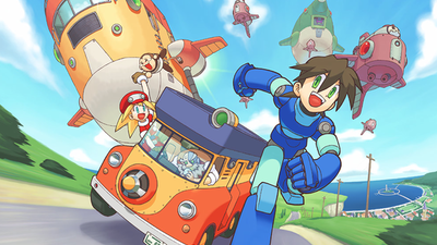 Praise Capcom's overlords! Mega Man Legends is coming to PSN