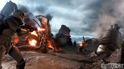 Star Wars Battlefront beta pre-load, file size and more detailed