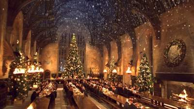 Your Harry Potter dreams have come true, dinner in the Hogwarts Great Hall is happening