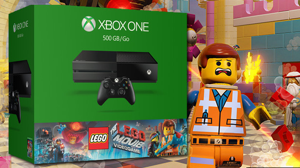 ... Xbox One bundle for the holiday season -- The LEGO Movie Videogame