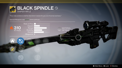 Destiny's Black Spindle is up for grabs with today's Daily Heroic 'Lost to Light'