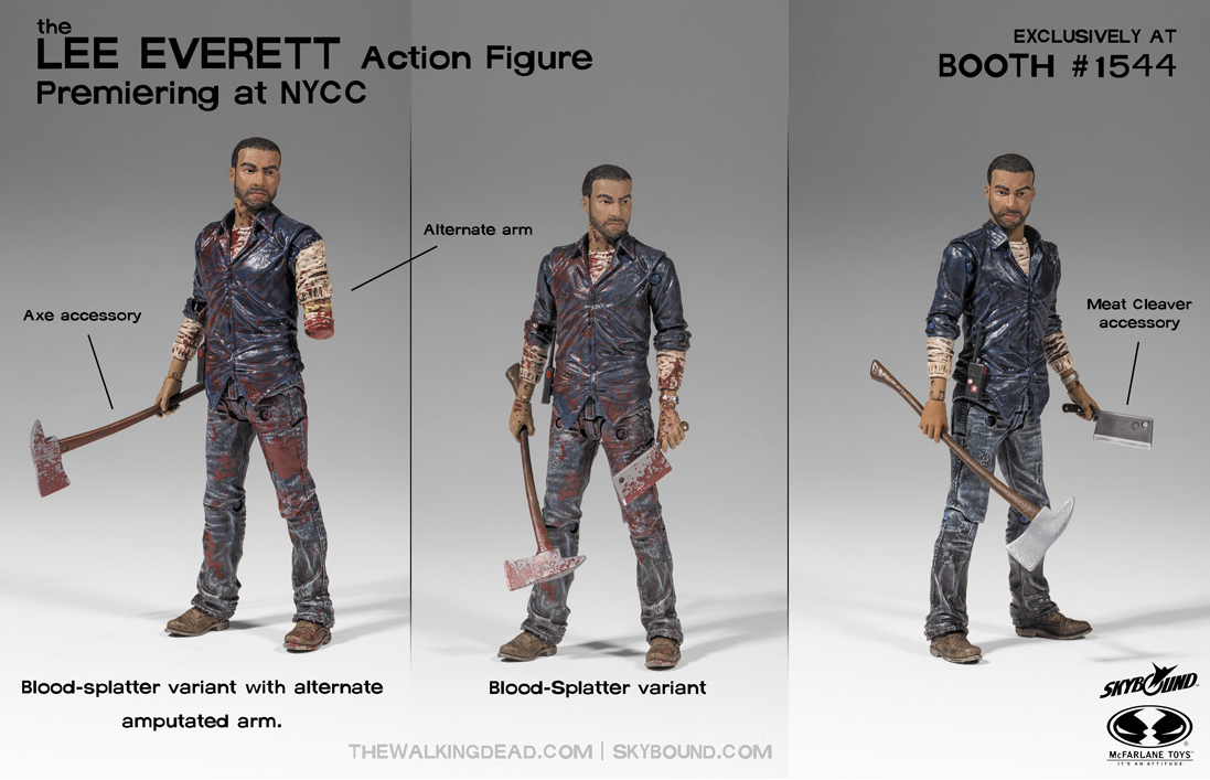 Lee From Telltale S The Walking Dead Gets His Own Figure
