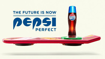 Pepsi is going Back to the Future with limited edition 'Pepsi Perfect'