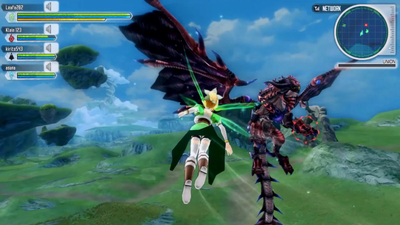 New Sword Art Online: Lost Song trailer highlights multiplayer