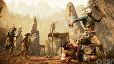 Ubisoft's mysterious game is 'Far Cry Primal'
