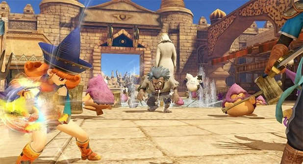 Dragon Quest Heroes: The World Tree's Woe and the Blight Below - Feature