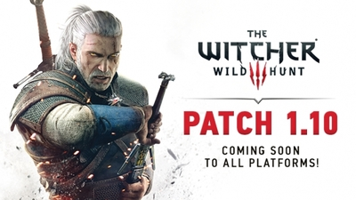 Massive Witcher 3 patch 1.10 has over 600 changes