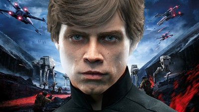 Watch Luke Skywalker get wrecked in Star Wars Battlefront