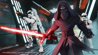 Disney Infinity reveals Star Wars: The Force Awakens Play Set and figures