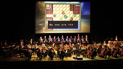 Tune in to Stephen Colbert's Late Night Show tonight to hear unreleased The Legend of Zelda Musical Performance