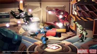 Disney Infinity 3.0 Marvel Battlegrounds announced with new figures