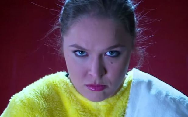 Ronda Rousey's secret to success is by becoming Pikachu
