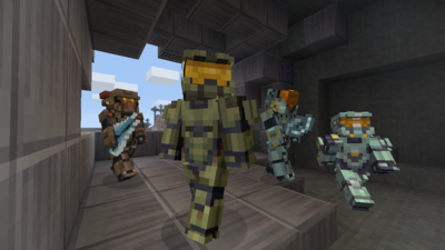 Halo 5 Guardians meets Minecraft this Friday