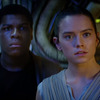 Jon Boyega and Daisy Ridley have the best reactions to the Star Wars: The Force Awakens trailer