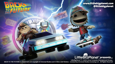 Little Big Planet 3: Back to the Future content arrives today