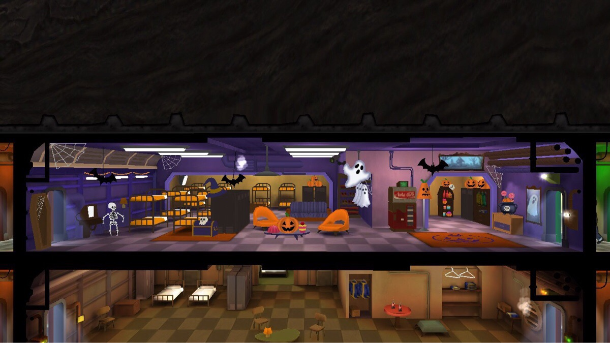 new halloween theme for fallout shelter gamer assault weekly