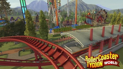 The first beta for RollerCoaster Tycoon World coming this weekend