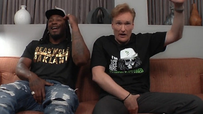 Conan O'Brien and Marshawn Lynch talk 'blowing sh*t up' in Call of Duty: Black Ops 3